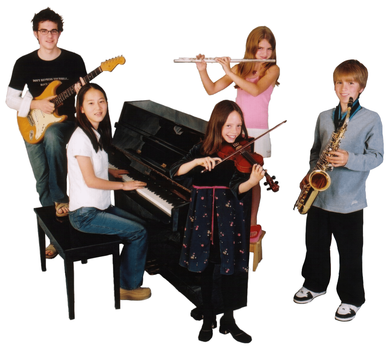 music kids 2006 cutout
